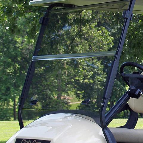 Club Car Precedent Foldable Golf Cart Windshield - TINTED