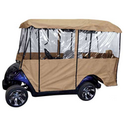 "Deluxe Driveable Golf Cart Enclosure - For 88"" Cart Top"