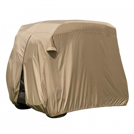 Heavy Duty Golf Cart Storage Cover - Tan