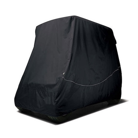 """4-Passenger Golf Cart Storage Cover for Carts with 80"""" Top - Black"""