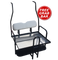Club Car DS Golf Cart Rear Seat Kit (1982 - 2013 models) - WHITE