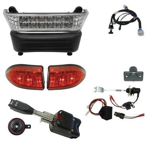 Club Car Precedent Light Kit - STREET LEGAL (Choose: LEDs or Regular)
