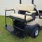 Golf Cart Rear Seat Arm Rest Cushion & Cup Holder - TAN