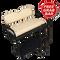 Club Car Precedent Golf Cart Rear Seat Kit w/ Cargo Bed & Free Grab Bar - BUFF