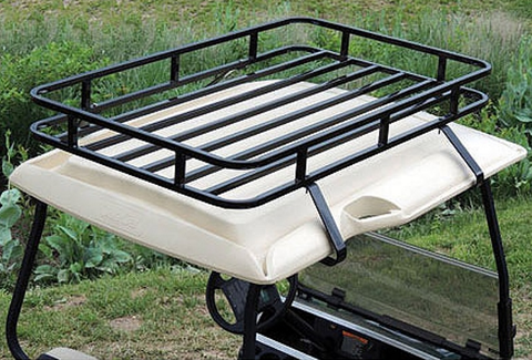 Club Car DS Roof Storage Rack - Black
