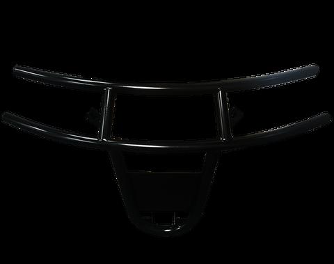 EZGO RXV Golf Cart Brush Guard - Black Steel
