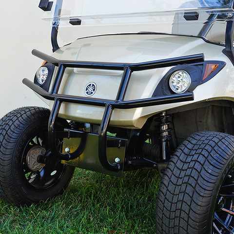 Yamaha Drive / G29 Golf Cart Brush Guard - BLACK