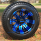 "10"" VEGAS Wheels and 205/50-10"" DOT Street Tires Combo - Set of 4 (CHOOSE YOUR COLOR!)"