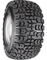 "10"" VEGAS Wheels and 18x8.5-10"" Kenda All Terrain Tires Combo"