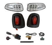 EZGO RXV Golf Cart Light Kit - STREET LEGAL (LED or Regular)