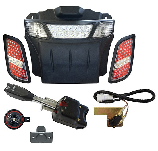 EZGO RXV Street Legal Light Bar Bumper Kit