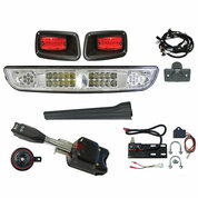 EZGO TXT Golf Cart Light Kit - STREET LEGAL (LED or Regular)