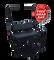 Club Car DS Golf Cart Rear Seat Kit (1982 - 2013 models) - BLACK