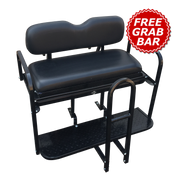 Yamaha Drive (G29) Golf Cart Rear Seat Kit - BLACK