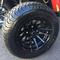 "12"" BLACK VENOM Golf Cart Wheels and 215/35-12"" DOT Street Golf Cart Tires"