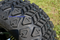 "10"" Tempest Golf Cart Wheels and 20x10-10 DOT All Terrain Tires - Set of 4"