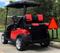 "12"" GODFATHER Golf Cart Wheels and 215/40-12 DOT Golf Cart Tires Combo - Set of 4"