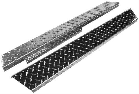 Yamaha G14/ G16/ G19/ G22 Golf Cart Diamond Plate Rocker Panels Set