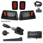 Yamaha G14 / G16 / G19 / G22 Golf Cart Light Kit - STREET LEGAL - LED