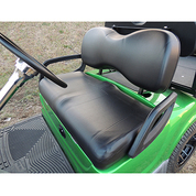 Yamaha G29/Drive Black Vinyl Golf Cart Seat Cover Set