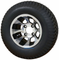 "10"" REVOLVER Machined Wheels and 20x8-10"" TURF Tires Combo"