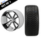 "12"" STORM TROOPER Wheels and 215/35-12"" ELITE DOT Tires - Set of 4"