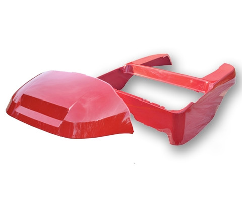 RED Club Car Precedent Full Body Kit (OEM Front Cowl + Body)