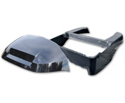 BLACK Club Car Precedent Full Body Kit (OEM Front Cowl + Body)