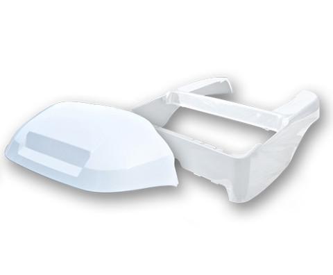 WHITE Club Car Precedent Full Body Kit (OEM Front Cowl + Body)