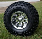 """10"""" REVOLVER Wheel and 22"""" All Terrain Tire combo"""