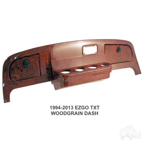 1994-2013 EZGO TXT Dash in Woodgrain