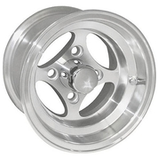 "10"" VIKING Machined Golf Cart Wheels"