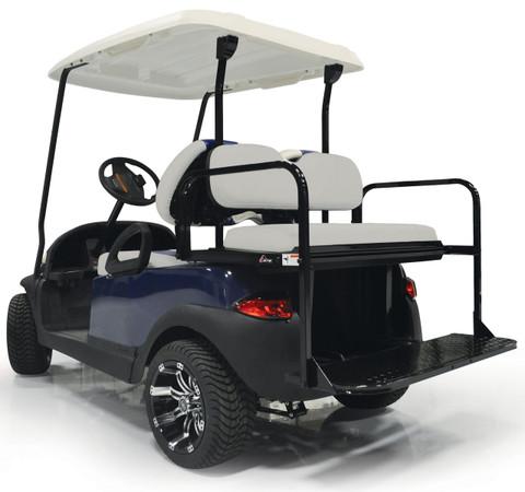 Yamaha Drive (G29) / Drive2 Aluminum Golf Cart Rear Seat Kit - GREY / Stone