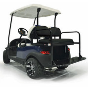 Yamaha Drive (G29) / Drive2 Aluminum Golf Cart Rear Seat Kit - BLACK
