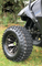 "12"" BLACKJACK Metallic Bronze wheels and 23"" All terrain tires combo"