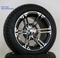"""12"""" TERMINATOR Wheels and 215/40-10 DOT Tires combo"""