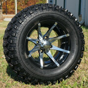 "12"" KRAKEN Wheel and 23"" All Terrain Tire combo"