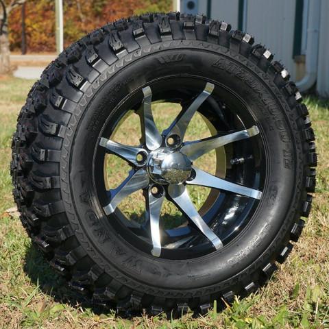 """12"""" KRAKEN Wheel and 23"""" All Terrain Tire combo"""