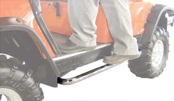 Jake's Yamaha Golf Cart Stainless Steel Nerf Bars (G14-G22)