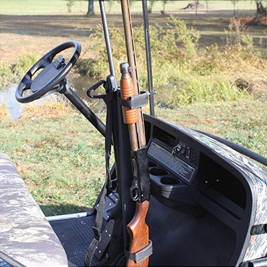 Golf Cart Gun Rack - Universal Fit (EZGO, Club Car,  Yamaha, & more)