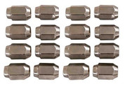 16 Pack of Chrome Metric Threaded Golf Cart Lug Nuts (for Yamaha Golf Carts, 12mm)