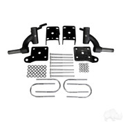 "3"" EZGO TXT RHOX Drop Spindle Golf Cart Lift Kit (Electric 2001.5-2009 & Gas 2001.5-2008.5)"