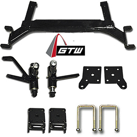 "GTW EZGO TXT 5"" Drop Axle Lift Kit (2001.5-Up Gas & Electric Models)"