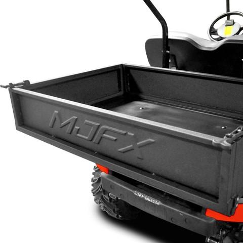 MADJAX Premium Heavy-Duty Golf Cart Cargo Utility Box - (Fits EZ-GO, Club Car and Yamaha)
