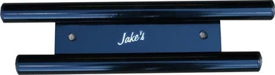 Jake's Club Car DS Small Front Bumper - High-Gloss Black Powder Coat