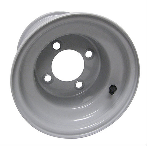 "8"" GREY Steel Golf Cart Wheel - Club Car OEM"