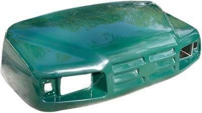 EZGO TXT / ST350 Front Cowl Body - Green (1994 & Up)
