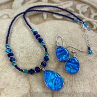 SEA OF GLASS Water Earrings