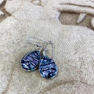 SEA OF GLASS Silver Earrings