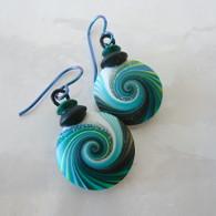SWIRL STONE STUDIO Jade Takara Earrings